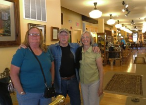 On a recent visit I ran into photographer Fran Driscoll and his friends.