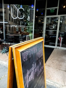 Just up the street, Uptown Coffee is a great place to enjoy a snack or lunch after you've seen the exhibit.